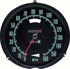 1968 Corvette Speedometer Without Speed Warning