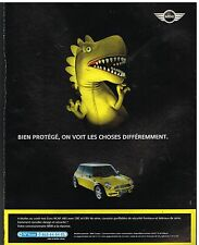 Publicité Advertising 2004 Mini Cooper