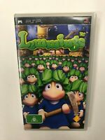 Lemmings PSP PAL Complete CIB Tested Playstation Portable Sony
