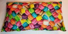 French Macaroon Design Accent Pillow