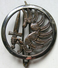 ANCIEN INSIGNE de BERET PARACHUTISTE TAP 2 REP 1 RCP sans marquage de fabricant