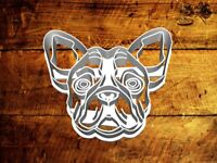 French Bulldog - Uk SELLER Biscuit Cookie Cutter Fondant Cake Decorating