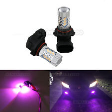 2PCS Purple 9006 HB4 15SMD 5730 LED Bulbs Super Bright for Fog Lights