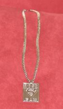 Solid 14-carat, white gold, handcrafted masterpiece; necklace & pendant.