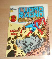 ED.CORNO  SERIE  L'UOMO RAGNO GIGANTE  N° 16  1977  ORIGINALE  !!!!