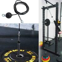 Adjustable Home Fitness Pulley Cable Length Heavy Duty Steel Wire Rope