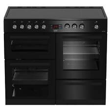 Beko KDVC100K 100cm Ceramic Range Cooker in Black 5 Hotplate Burners