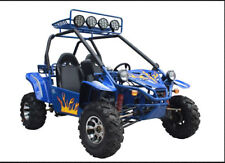 Off Road Go Kart Gas Powered 4 stroke 1 Cylinder 147cc 9.25HP Engine Blue NEW