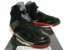 new concept 4d026 476ea ... 2010 NIKE AIR JORDAN 6 VI RETRO Detroit Pistons black red-blue 384664-  ...