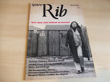 Spare Rib Women's Liberation Feminist Magazine Number 33 March 1975