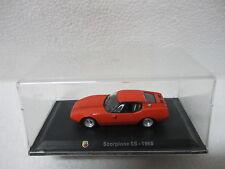 Scorpione SS - 1968 - ESC - 1/43 - ABARTH COLLECTION - HACHETTE - CARS