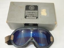 Korean War US Navy Simulated Blind Flying Goggles in Box