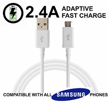 SAMSUNG GALAXY UNIVERSAL Micro USB FAST CHARGER CABLE S NOTE 4 5 (NOT S6)