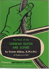 SUNBEAM RAPIER SERIES 1 2 3 3A & ALPINE SERIES 1 2 (1955-61) OWNER REPAIR MANUAL