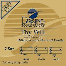 Hillary Scott - Thy Will Be Done - Accompaniment/Performance Track – New CD