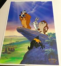 Warner Bros Cel Circus Of Life Bugs Bunny Tasmanian Rare Edition Number 1 Cell