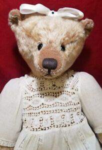 "Audie Sison ""Caprice"" OOAK  Award Winning artist teddy bear mohair 20"""