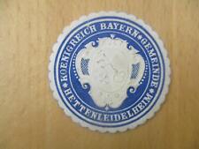 (32968) Siegelmarke - Gemeinde Hettenleidelheim