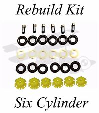 BMW Injector Rebuild Kit -  Six Cylinders (M20, M50, M52, etc.) E30 E36 E34 E39