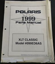 1999 POLARIS SNOWMOBILE XLT CLASSIC PARTS MANUAL P/N 9914840  (117)