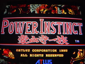POWER INSTINCT  PCB ARCADE GAME JAMMA  by ATLUS
