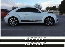 Volkswagen Beetle Turbo R type Rocker Panel Vinyl Graphics Decals Side Stripes