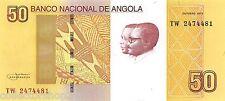 Angola 50 Kwansas 2012 Unc Pn 152a, Banknote24
