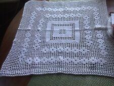 Handmade Crochet Square Table Spread Doily
