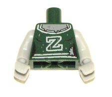 LEGO NEW DARK GREEN ZOMBIE CHEERLEADER MINIFIGURE TORSO PIECE