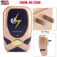 28KW Home Electricity Power Energy Factor Saver Saving Up To 30%US Plug NM