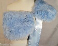 PELZKRAGEN ● Bleu ● Fuchskragen Silberfuchs PELZ STOLA Echtpelz Fellkragen
