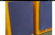 JVC SPEAKERS SP-UXT55 SMALL BOOKSHELF HI FI PUNCHY SPEAKERS. GREAT SOUND.