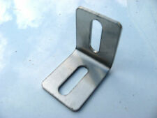 Set of Four Stainless Steel 90 Degree Angle Bracket 40mm X 50mm 2.5mm Thick