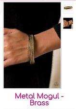 Metal Mogul Brass Paparazzi Jewelry Bracelet ☆