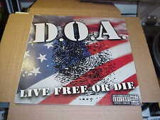 LP:  D.O.A. - Live Free Or Die   NEW SEALED  DOA