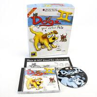Dogz II Your Virtual Petz for PC CD-ROM in Big Box by PF Magic, 1997, VGC, CIB