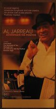AL JARREAU 2004 POSTER Accentuate The Positive 2-Sided 12x24