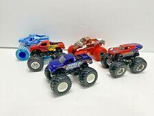 Hot Wheels Monster Jam 1:16 Scale Truck lot of 5