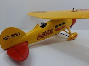 Ertl Coca Cola Coke 1929 Lockheed Air Express Coin Bank (1994)
