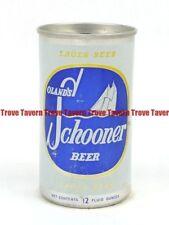 1960s Canada Halifax Nova Scotia Oland'S Schooner Beer aluminum can Tavern Trove