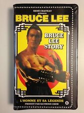 TRES RARE K7 VIDEO VHS RENE CHATEAU BRUCE LEE STORY