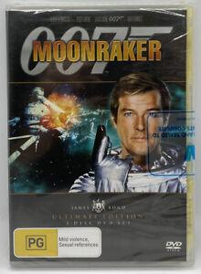 007 James Bond Moonraker: 2 DVD Ultimate Edition - Brand New & Sealed
