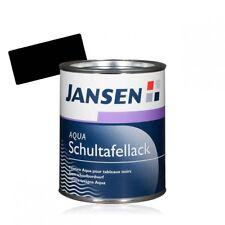 Jansen Aqua Schultafellack schwarz 0,75l | Tafelfarbe