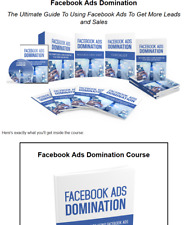Facebook Ad Domination Business For Sale w/ Software & Video Upsell + Affiliate