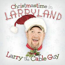 Christmastime in Larryland by Larry the Cable Guy (CD, Oct-2007, Warner Brothers