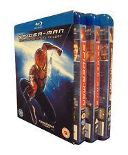 Spider-Man Trilogy (Blu-ray, 2007, 4-Disc Set, Box Set)