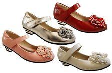 Chaussures rouges en synthétique pour fille de 2 à 16 ans
