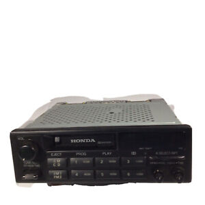 HONDA OEM AM / FM RADIO CASSETTE PLAYER STEREO - 39100-SV4-A000