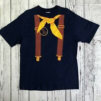 Mens Hanes Beefy-T Large T-Shirt Vintage Igor's Cowboy Jazz Band Western   1585