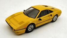 Ferrari 308 Gtb Qv 1982 Yellow 1:43 Model BEST MODELS